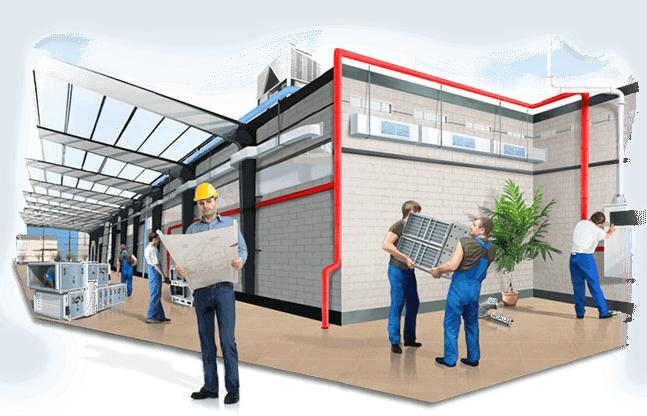 Реализация проектов под ключ: проектирование, поставка, монтаж, пуско-наладка