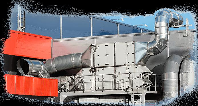 Вентиляция для объектов промышленного назначения