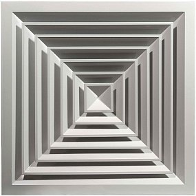 Потолочные диффузоры прямоугольного типа