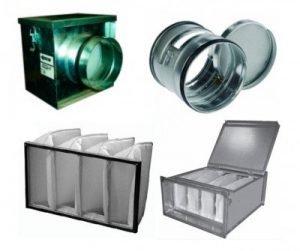 Фильтры для прямоугольных и круглых каналов